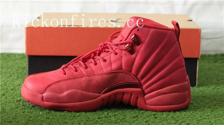 buy online fcced 218db Authentic Air Jordan 12 Red Bulls |