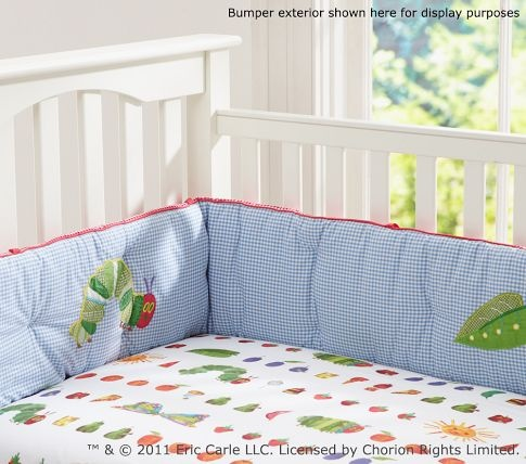 The Very Hungry Caterpillar™ Nursery Bedding Set Pottery Barn Kids...of course without the bumper