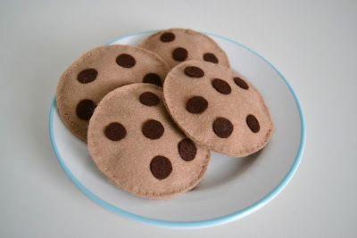 Schoko Cookies für den Kaufladen Mehr