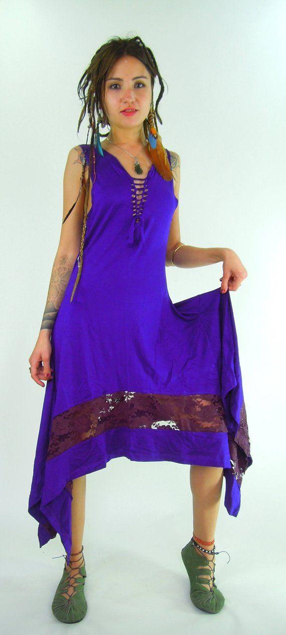 e75a04b953 Kurta gothic dress pagan clothing goa medieval dress steampunk ...