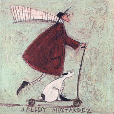 Speedy Mustardez:: by Sam Toft