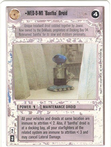 Star Wars CCG Premiere White Border WED-9-M1 Bantha Droid