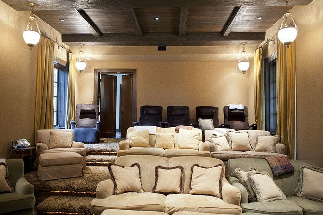 Hollywood's Private Screening Rooms — Photos