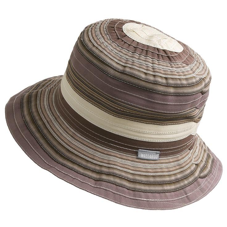 Wallaroo Nantucket Bucket Hat - UPF 50+ (For Women) in Brown $16.96