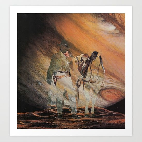 The Wild West Guide To The Galaxy Presents The Unknown Rider Jupiter Rising - $22