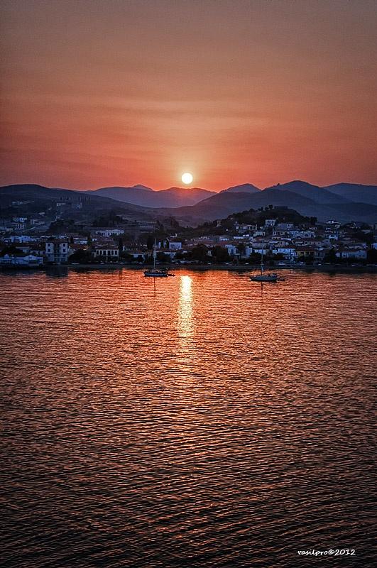 Limnos Island sunset