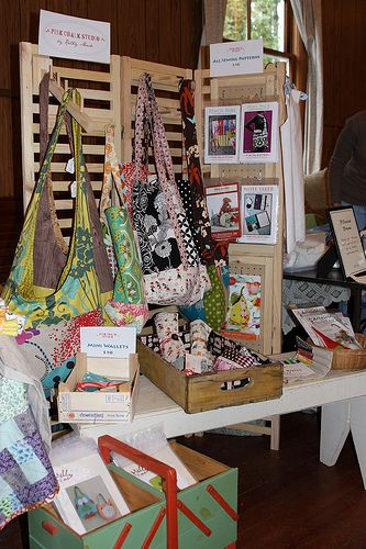Table Display For Craft Shows Flea Markets Market Day Farmers Market And  More.. Idea