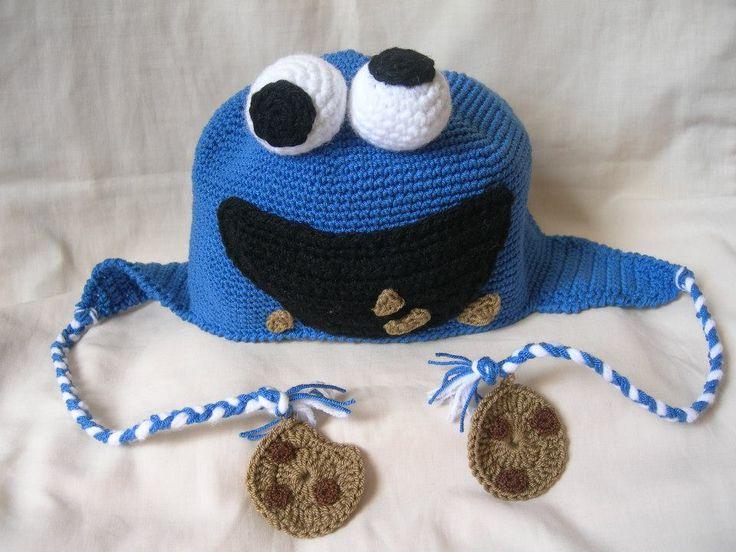 Una forma muy divertida de atacar al frío en época de invierno. #Monstruocomegalletas #crochet #hat #gorro #accesorio