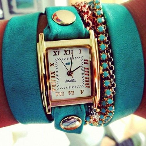 yes please: Arm Candy, Summer Style, Gold Cuffs, Colors Schemes, Summer Colors, All-Star Turquesa, Ancillary, Arm Parties, Wraps Watches