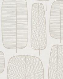 Tapet Little Trees White & White från MissPrint