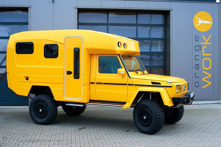 広々した車内空間にビックリ!メルセデス・ベンツ『Gクラス』をキャンピングカーに大改造 – DIGIMONO!(デジモノ!)