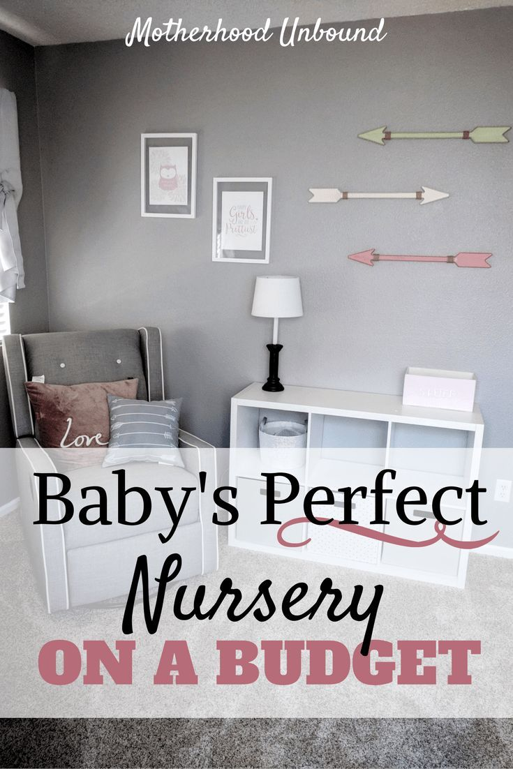 Decorate baby�s nursery on a budget! DIY, repurposing, and simple at home projects are some easy ways to design the perfect nursery without costing a fortune. These simple but cute nursery ideas are perfect for either a baby boy or baby girl nursery and a