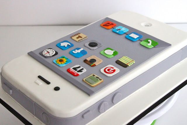 iphone cake | Celebrate with Cake!: iPhone Cake I found this soooo cute!!! :)