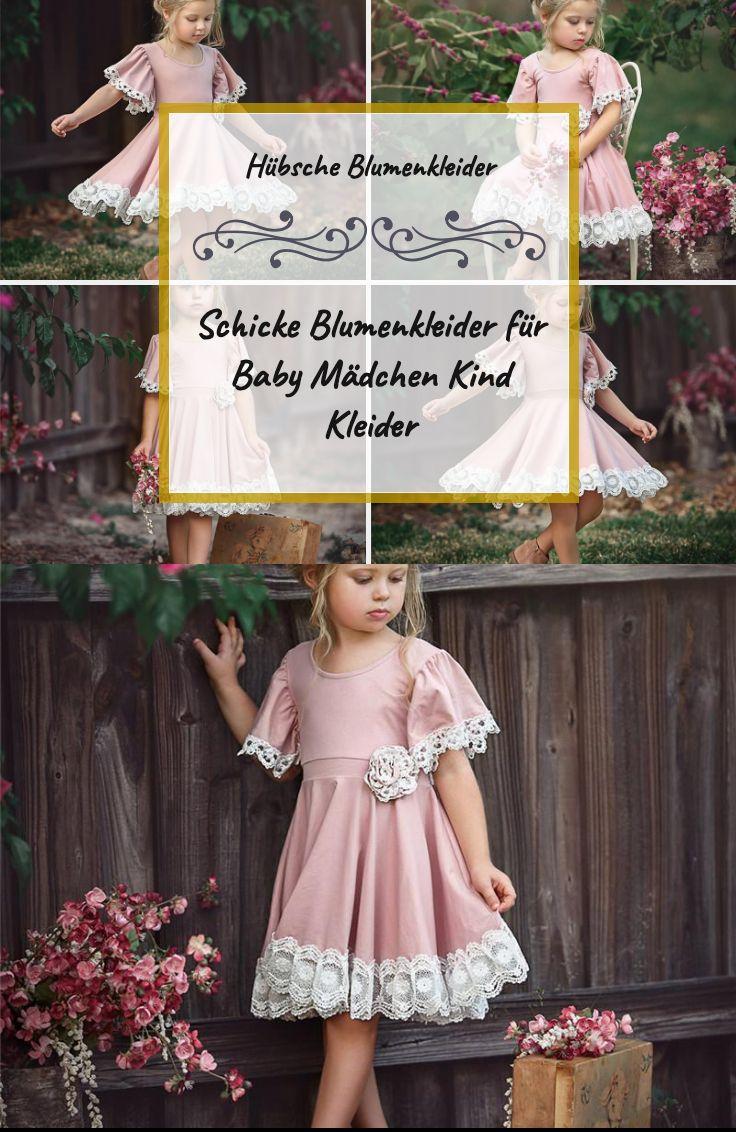 Hübsche Blumenkleider Kurzarm-Kleid Blend Für Hübsche