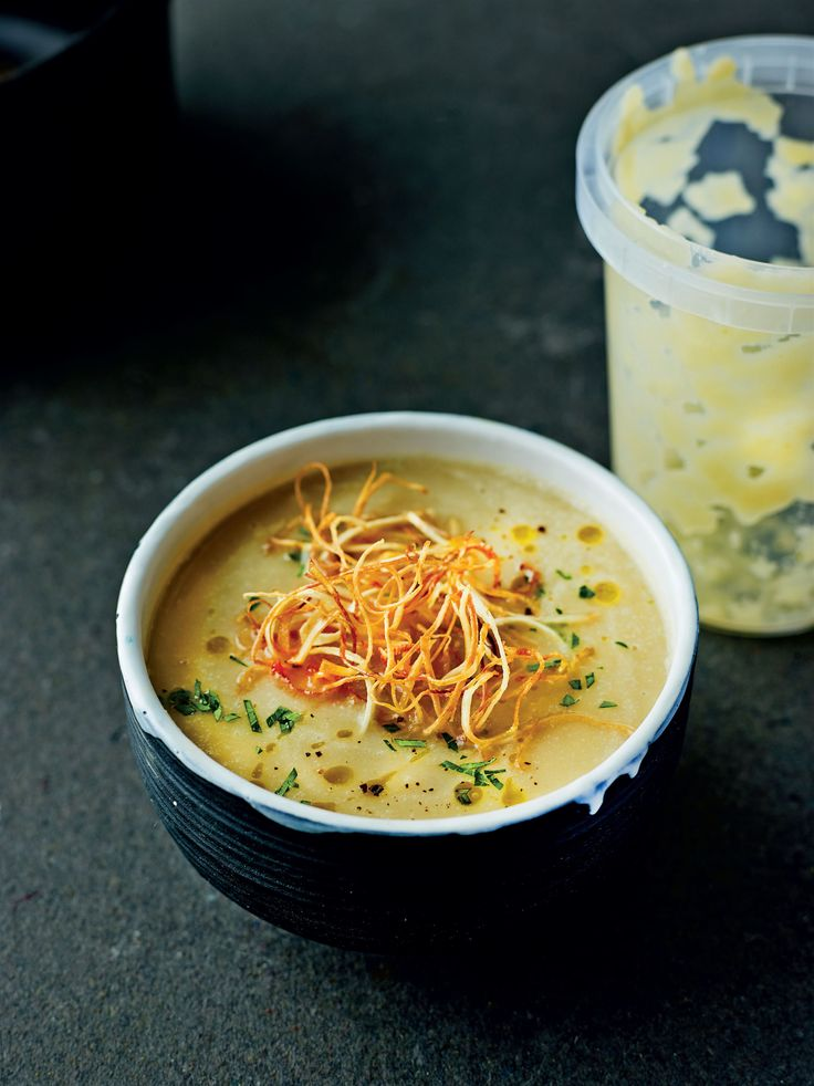 Silky celeriac soup recipe from The Medicinal Chef: Healthy Every Day by Dale Pinnock | Cooked