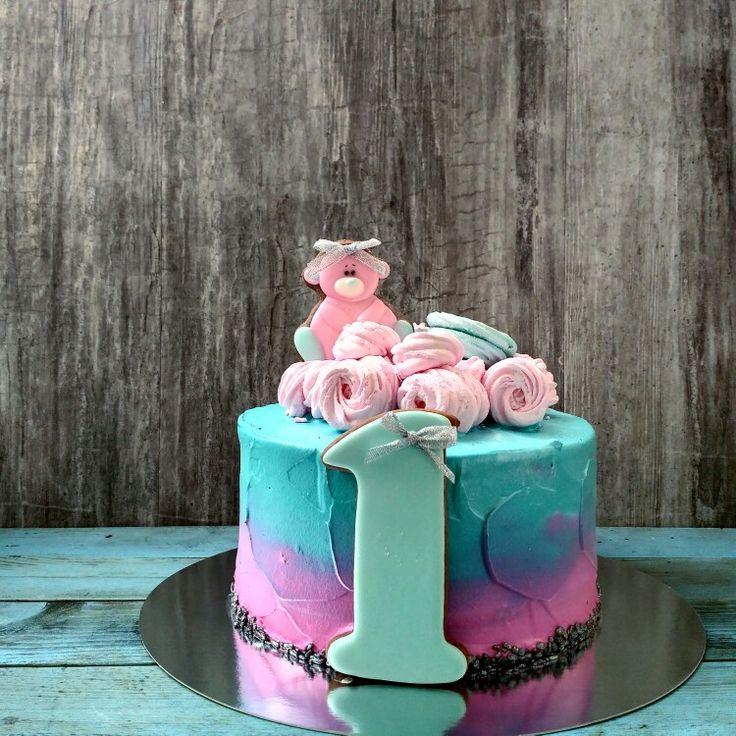 Торт на годик Follow us @big_berry_kiev