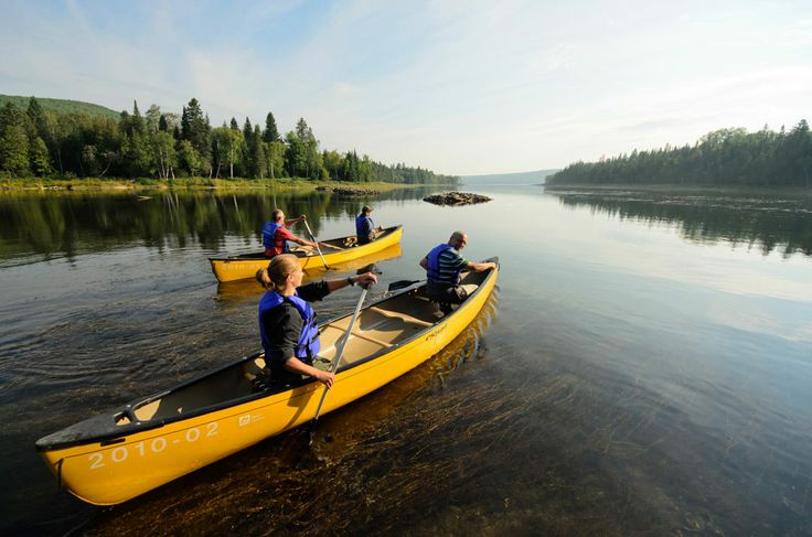 Lac-Temiscouata National Park near Quebec