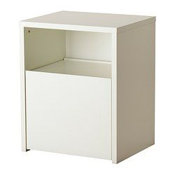 MICKE Desk with printer storage - white - IKEA