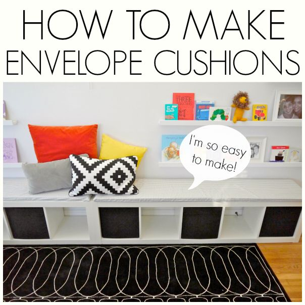 how to make envelope slip covers how to make living rooms and ikea expedit. Black Bedroom Furniture Sets. Home Design Ideas