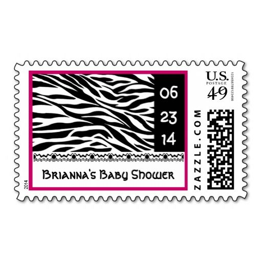 Baby Shower Stamps 66 Cents ~ Best zebra print postage stamps images on pinterest