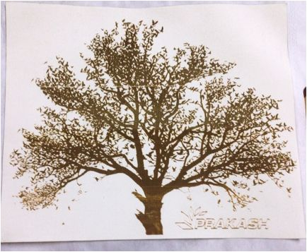 Fabric laser engraving done by Prakash laser cutting and engraving machines. To know more about engraving on fabric visit..  http://www.lasercuttingmachines.co.in/prakash-cma-1390-and-cma-1610-works-best-as-fabric-laser-cutting-machine/