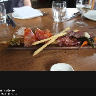 Charcuterie tasting plate - Albert Street Food and Wine, Brunswick Australia.