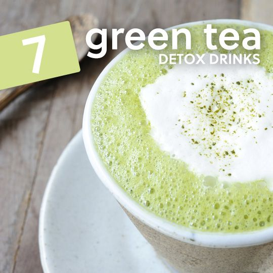 Drink more of these green tea detox drinks to cleanse your body and lose weight…