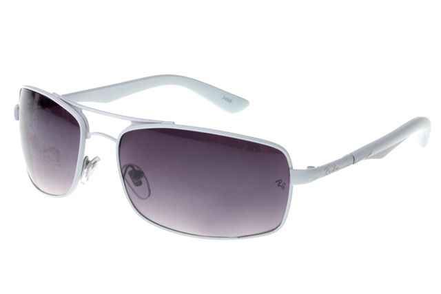 Ray Ban Active Lifestyle RB3460 Sunglasses White Frame