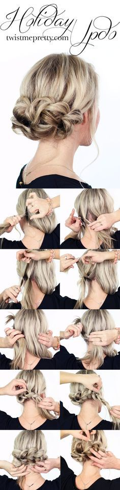 No matter how cold or how hot it is, don't stop chasing some new hair tutorials. You are lucky to find this site and learn more about the hair tricks for the next season. Just stay with prettydesigns and you will find some useful hair tutorials for your next event. Today's post is going to …