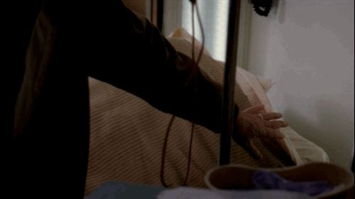 """And when Mandy Moore and Bailey hide from the shooter. 