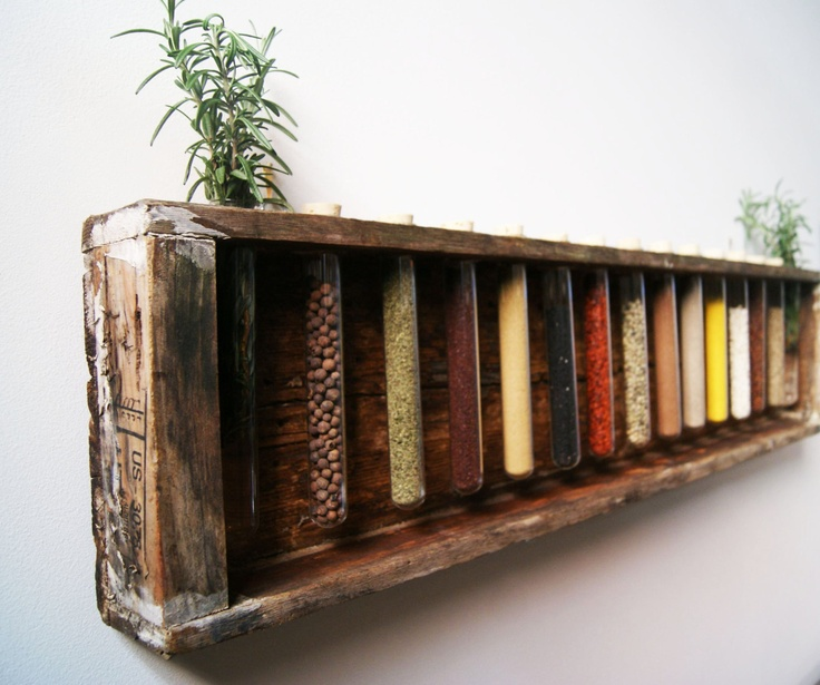 Wooden Spice Rack Creative Ideas Pinterest Wooden