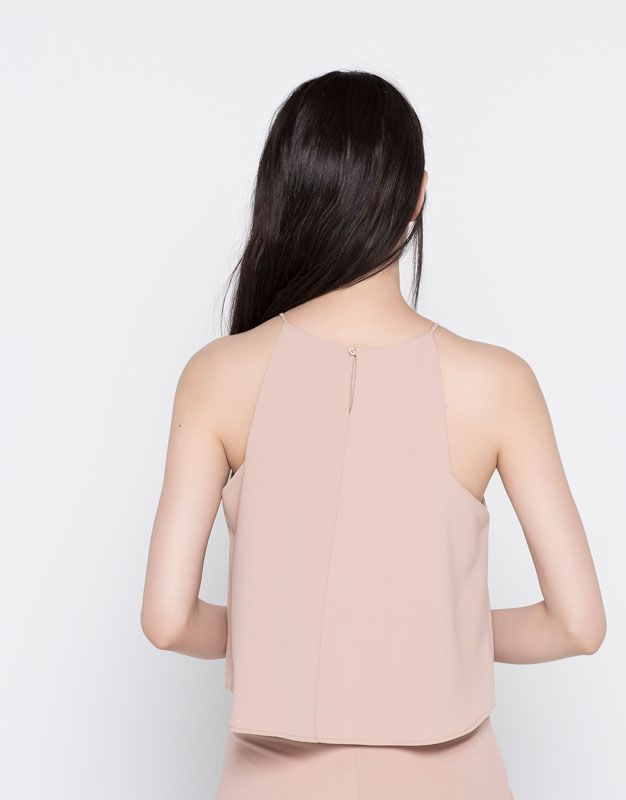 A-LINE TANK TOP - BLOUSES & SHIRTS - WOMAN - PULL&BEAR Mexico