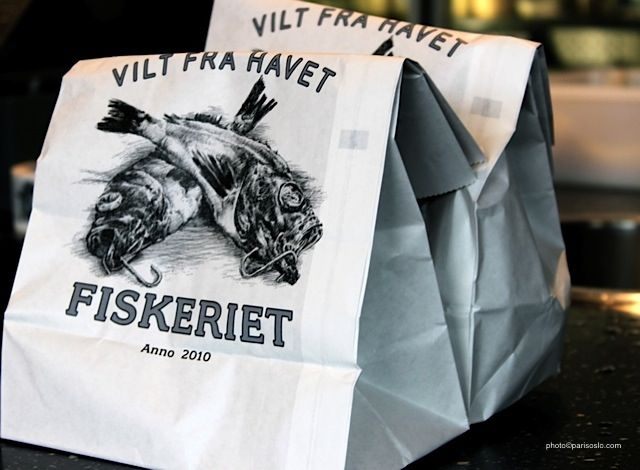 The best #fish & #chips in #Oslo #fiskeriet #food   photo(c)parisoslo.com