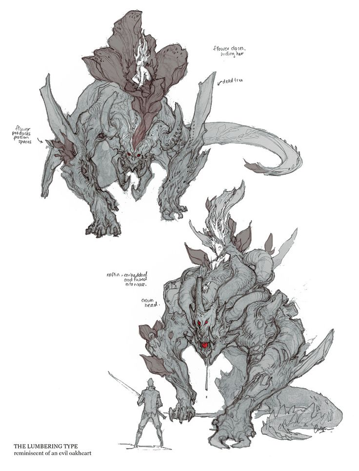 Awesome ArtStation   Guild Wars 2  Vinetooth And Faolain, Carlyn Lim. Monster  Concept ArtFantasy ...