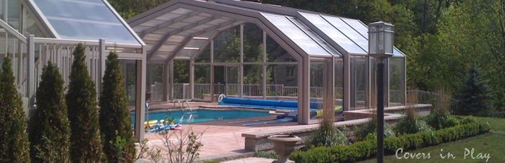 Best 25 pool enclosures ideas on pinterest swimming - Electric swimming pool covers cost ...