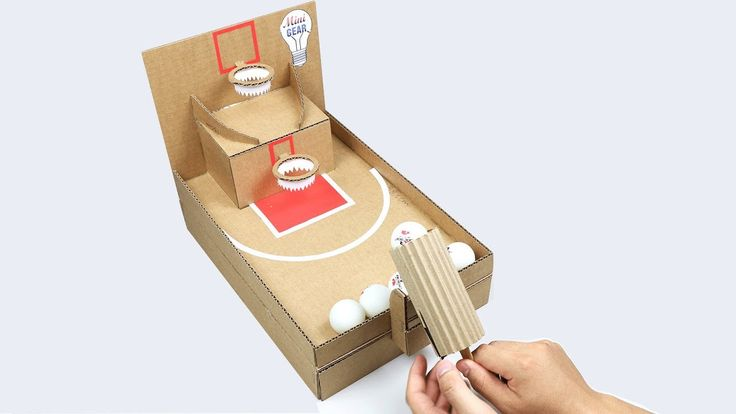 How To Make Ping Pong Basketball Desktop Game From
