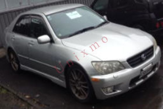 Year:2001 Make:TOYOTA Model:ALTEZZA Colour:Silver Body Style:Saloon VIN: 7AT0H639X10045924 Plate: FSK649 Engine No: 3S-9434965 Chassis: SXE10-0045924