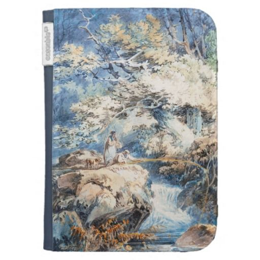 The Angler Joseph Mallord William Turner ART Kindle 3 Case