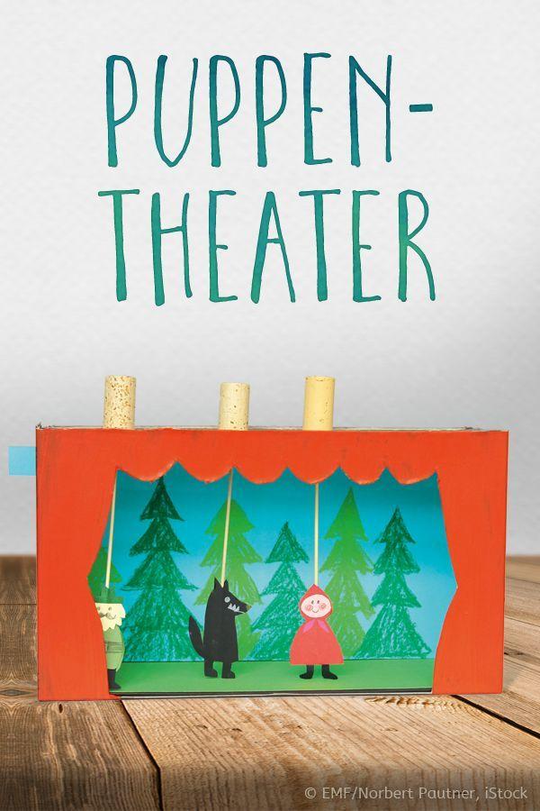 Kasperltheater selbstgemacht. So geht's. ©EMF/Norbert Pautner