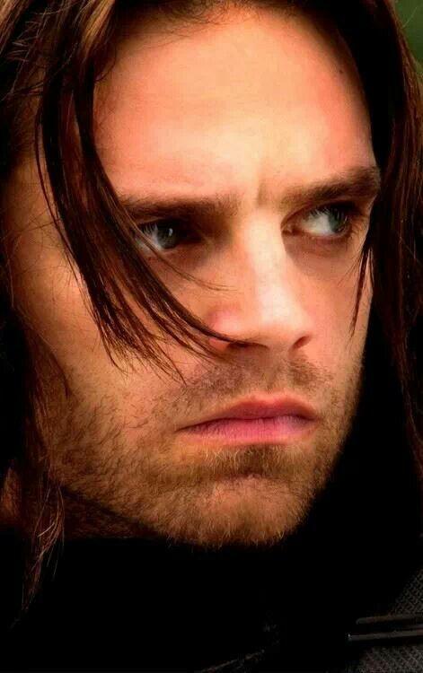 Sebastian Stan aka The Winter Soldier. Ummm why is he so perfect?!?!