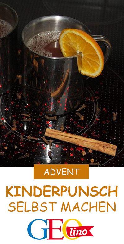 Wir zeigen ein Rezept für Kinderpunsch, mit dem ihr euch die langen Abende vers…