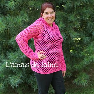 CROCHET PATTERN San's Sunny Sweater - A great and really quick pullover pattern, perfect for Fall and for Spring!! From X-small to XX-large!  https://www.ravelry.com/patterns/library/sans-sunny-sweater