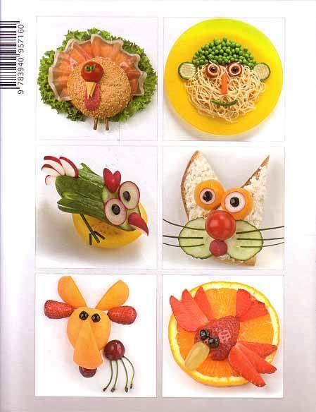 Comida divertida para ni os fun food for kids libros for Cocina creativa para ninos
