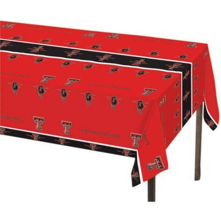 Texas Tech Red Raiders Table Cover, Assorted