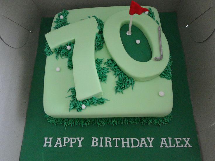 70th Birthday Cake Golf 70th Birthday Cake Ideas