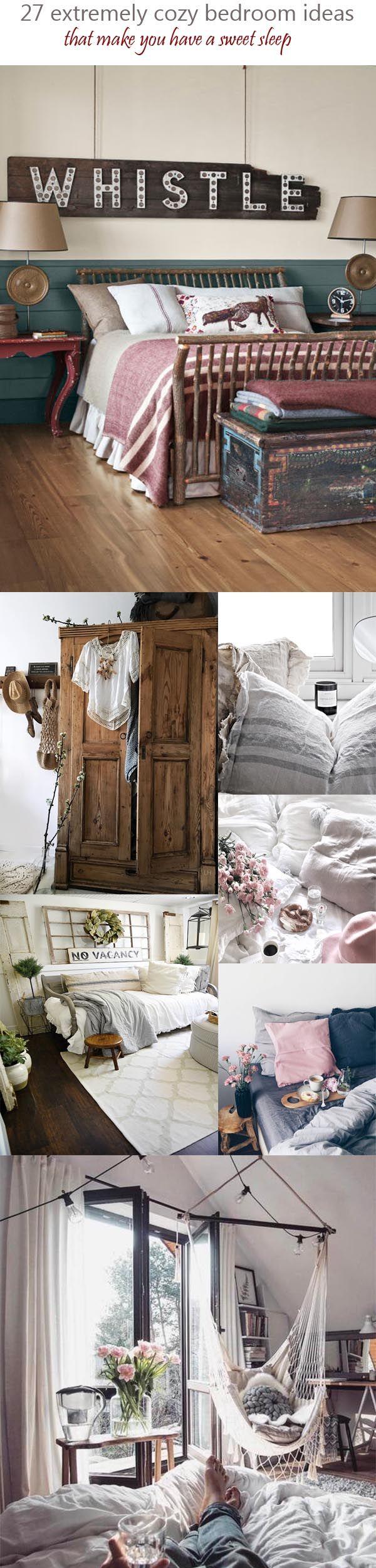 country cozy bedroom ideas