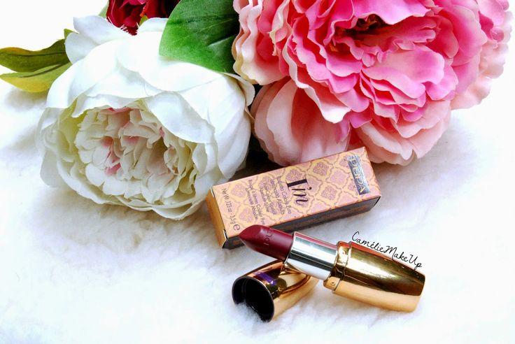 Camélie MakeUp: Pupa Paris Experience - Swatches rossetto I'm Lipstick 002 Berry Violet