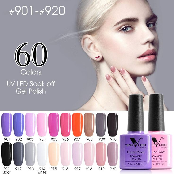 [Visit to Buy] CANNI Nail Gel Polish High Quality Nail Art Salon Tips 61508 60 Colors 7.5ml VENALISA Soak off Organic UV LED Nail Gel Varnish #Advertisement