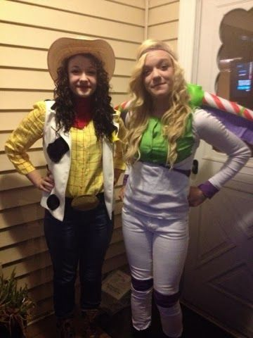 Look What Mommy Made: Woody and Buzz,  Couples Halloween Costumes, teen girl costumes