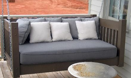 Hanging Porch Beds, Swinging Porch Beds